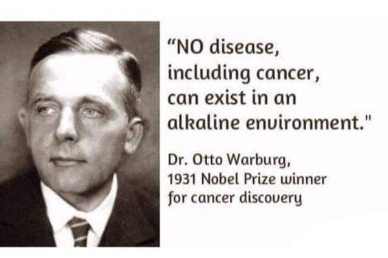 NO Disease Can Exist in An Alkaline Environment
