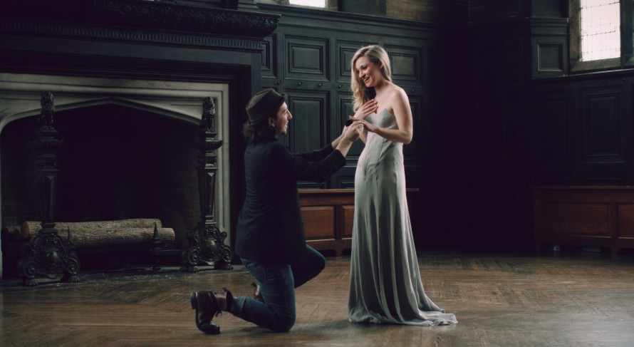 The Prince Proposing to the Princess